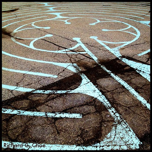 Labyrinth 2, St James UC by rchoephoto