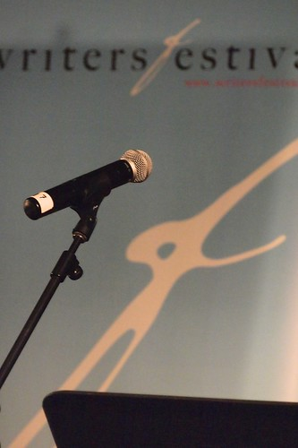 the mic stands alone