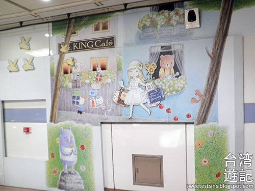 taiwan trip blog day 3 ximending zhongxiao fuxing sogo hello kitty sweets cafe miramar entertainment park 5
