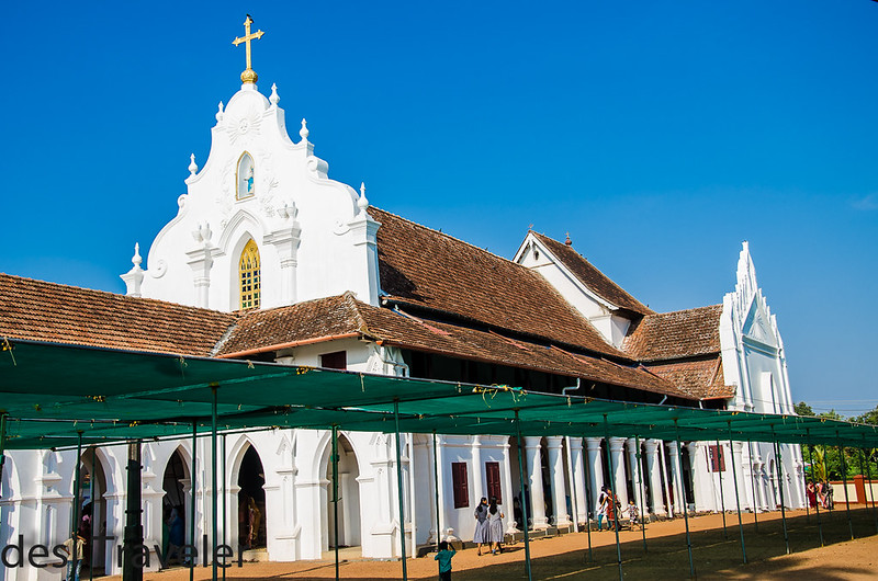 St Mary's Forane Champakulam Church Portuguese