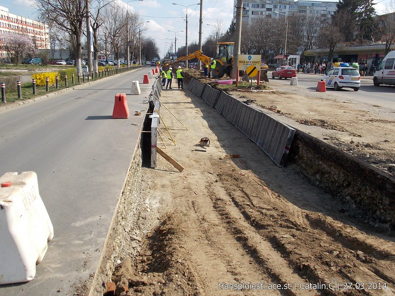 Traseul 102, etapa I: Bucla Nord ( Sp. Județean ) - Intersecție Republicii - Pagina 2 13506399005_28a76629b1_c
