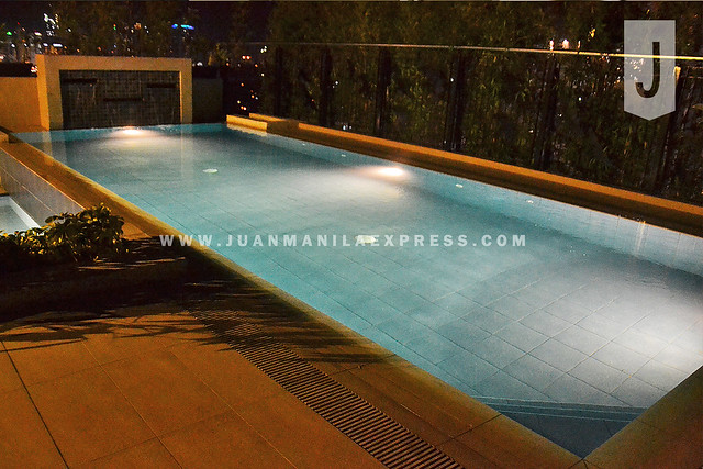 POOL OPENS DAILY FROM 6 AM TO 12 MN.