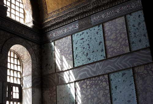 Hagia Sofia, Istanbul liten