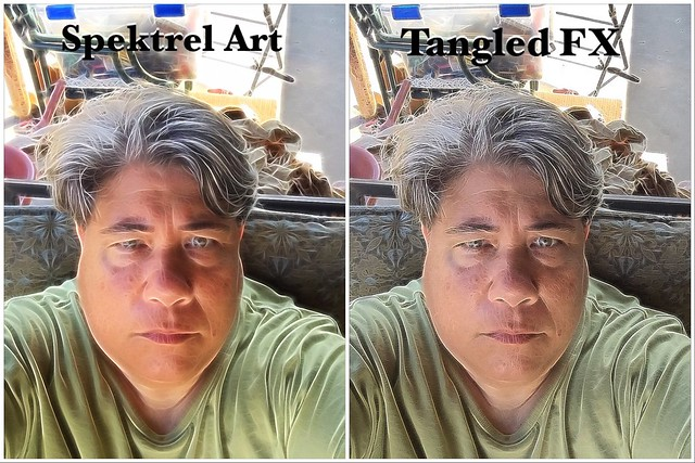 Spektrel Art vs Tangled FX