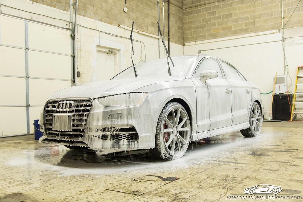 ATD | Efficiency - Foam on Audi