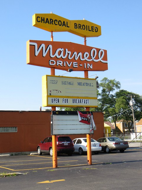 Marnell Drive-In, Chicago Heights, IL
