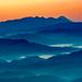 Mountains Silhouette by shinichiro*