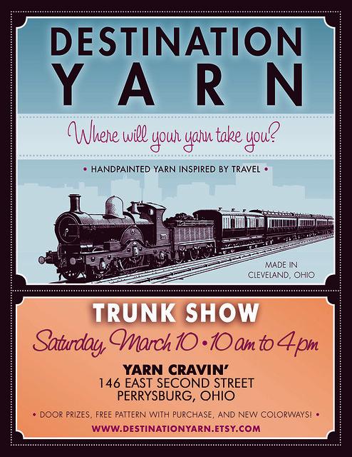 Yarncravintrunkshow