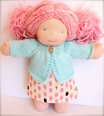 "Ice Cream Treats Tunic and Cardigan Set for 15"" Doll"