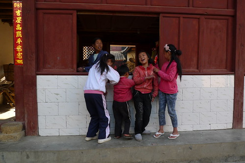 Kids - Lushi, Yunnan, China
