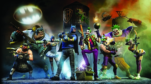 Gotham City Impostors Gets Free DLC, New Trailer