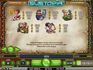 free Subtopia slot payout