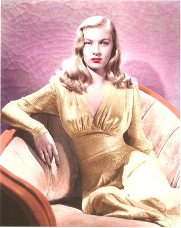 VERONICA LAKE, STAR OF THE SILVER SCREEN 1940S