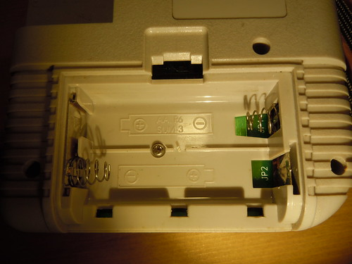 Game Fighter, Gameboy clone - left side battery compartment
