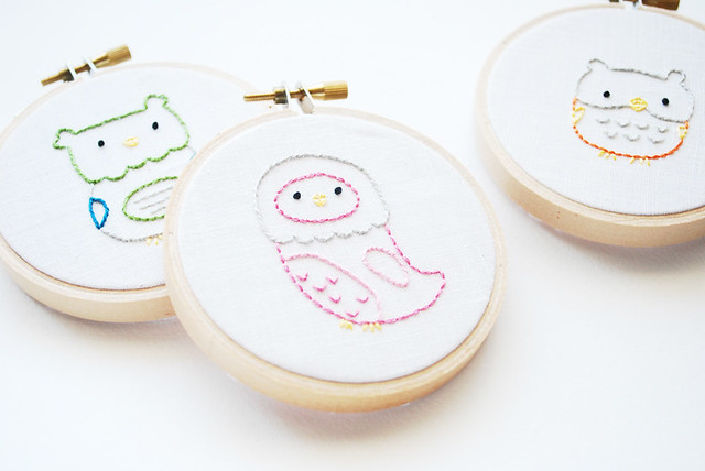 Little Owls Embroidery