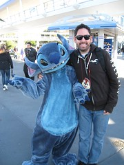 Stitch and Chris