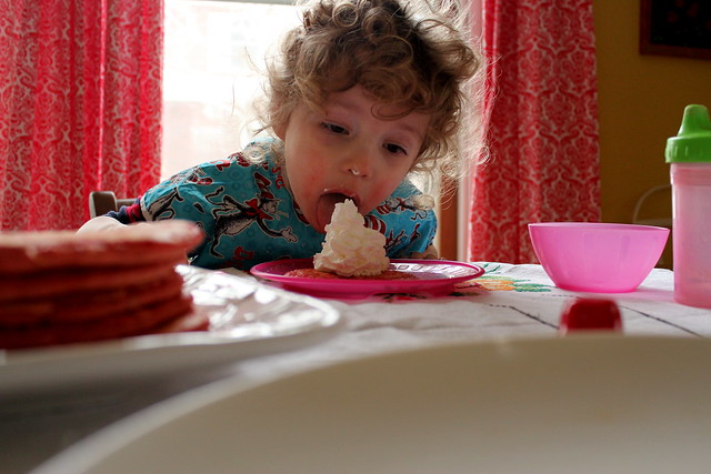 a valentine-y breakfast