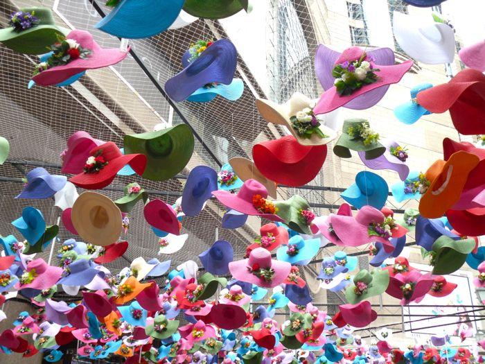 Times Square installation