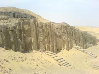 The niched 'Palace facade' of a Meidum mastaba