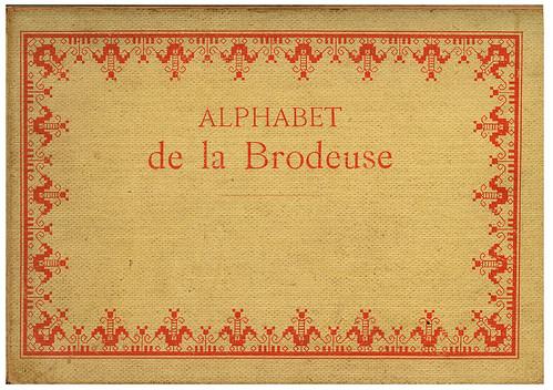 001-Portada-Alphabet de la Brodeuse1932- Thérèse de Dillmont
