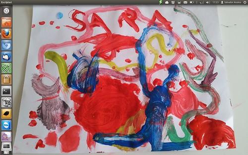 Fons Pantalla 2012-03 - Pintura Sara