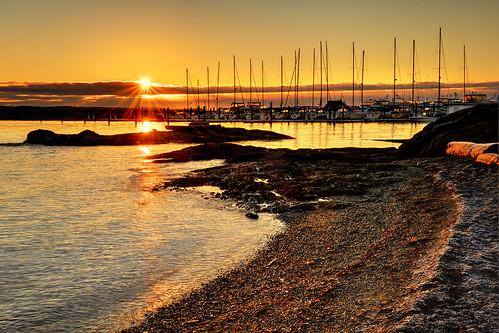 winter light canada silhouette marina sunrise landscape boats golden bc britishcolumbia victoria vancouverisland shore pacificnorthwest sidney mygearandme mygearandmepremium blinkagain ireenaworthyphotography northernstraitsphotography