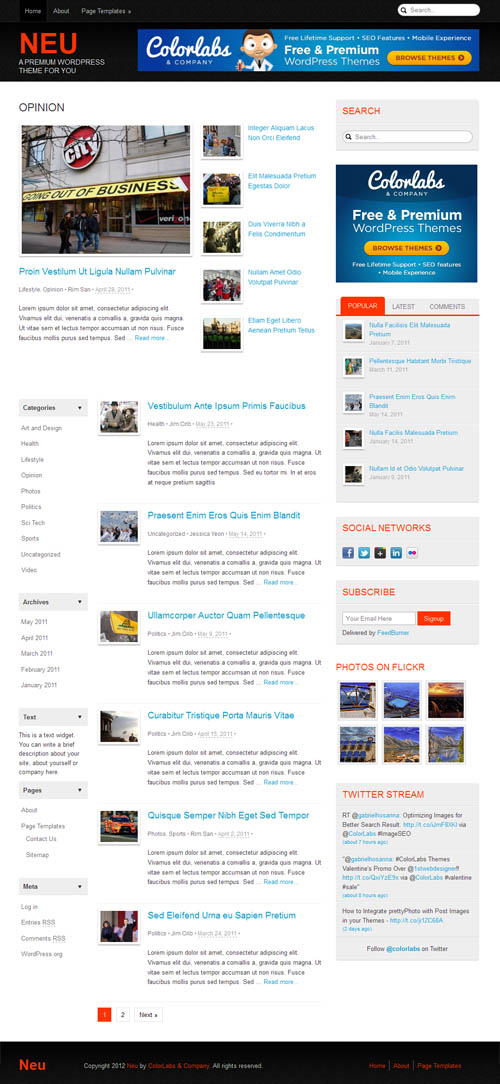 neu-wordpress-theme