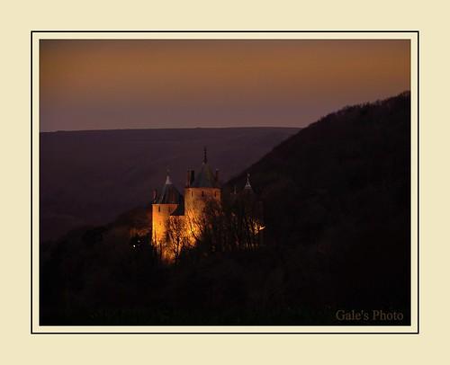 night dark nikon nightshot spotlights litup castlecoch d90 nikond90 18105vr