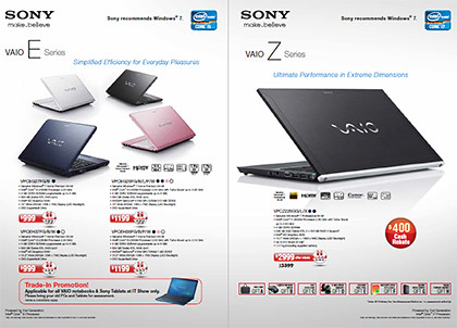 Check out Sony's promotions and deals at the IT Show 2011.