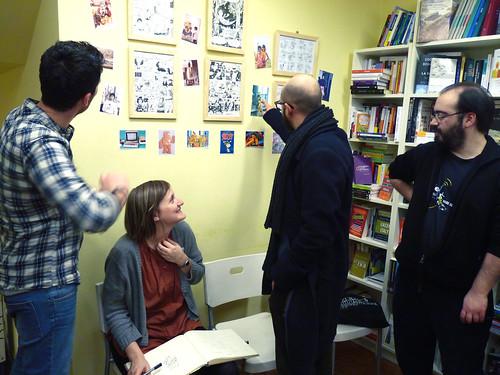 Giulia Sagramola and Tuono Pettinato Exhibit by la casa a pois
