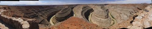 panorama geotagged utah goosenecks sanjuanriver goosenecksstatepark goosenecksofthesanjuan cdtw2011 geo:lat=37174176 geo:lon=109927409