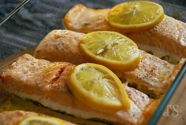 Pavé de saumon sauce exotique