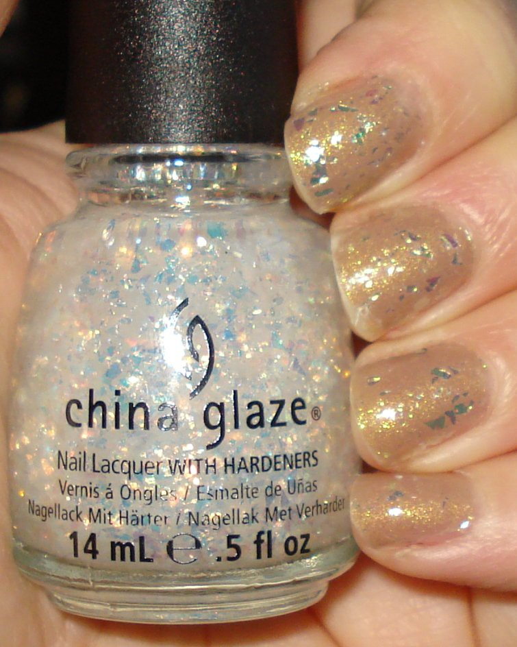 China Glaze - Luxe & Lush over Fast Track