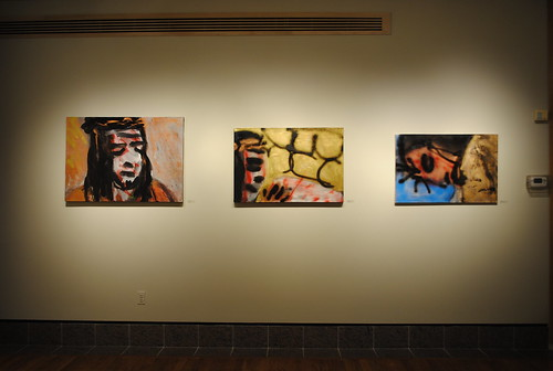 Christ Paintings Installation View