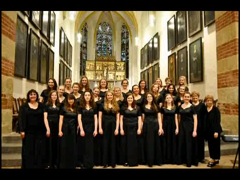 Portland Symphonic Girlchoir in the Thomaskirche in Leipzig