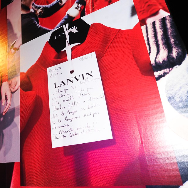 LANVIN Hiver 2012 Defile Femme - After Party