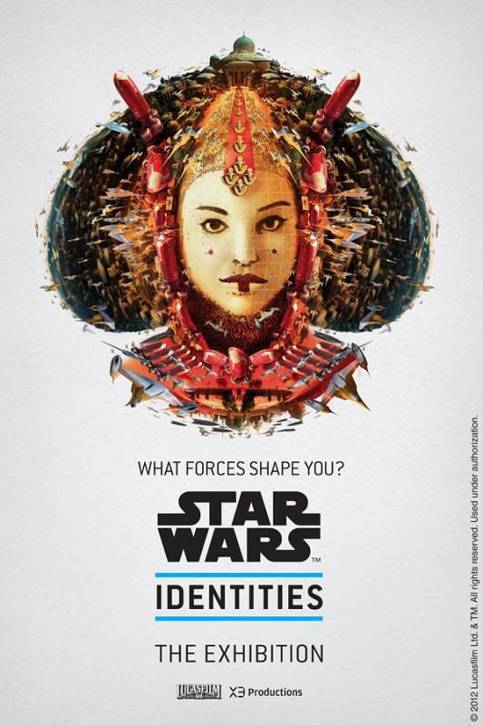 Star Wars Identities - Posters  Padmé Amidala ou Rainha Amidala
