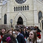 Sat, 02/04/2012 - 12:02 - The Archdiocese of Chicago Department of Catholic Schools, the Office of Divine Worship and Pueri Cantores worked together to create this memorable choral festival and Mass at Holy Name Cathderal on February 4, 2012, which marked the Closing Mass of Catholic Schools Week.