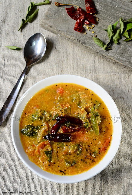Tomato Curry with Coconut and Spinach