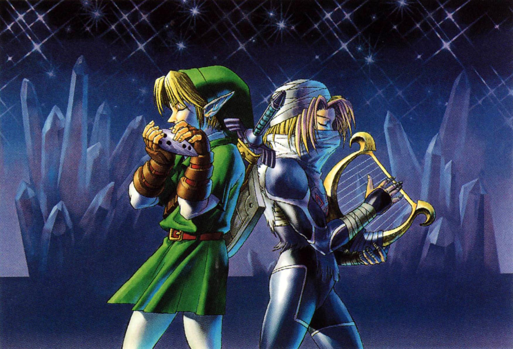 OoT Link & Sheik