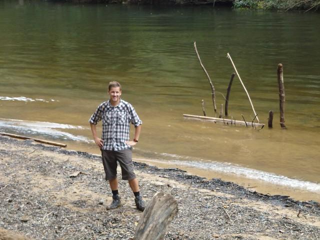 John by the peaceful riverside