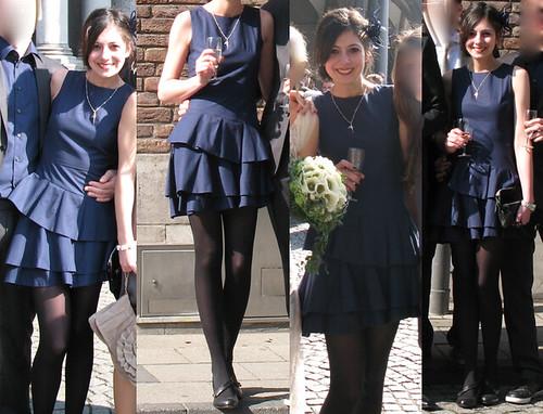 Schuhe fur ein blaues kleid