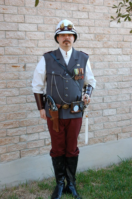 2010 Steampunk Airship Captain 3 | Flickr - Photo Sharing!