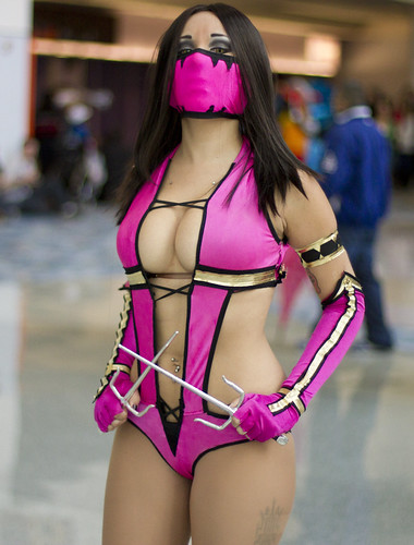 Mileena from Mortal Kombat