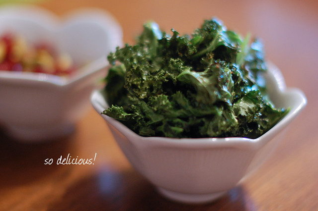 kale chips {three}