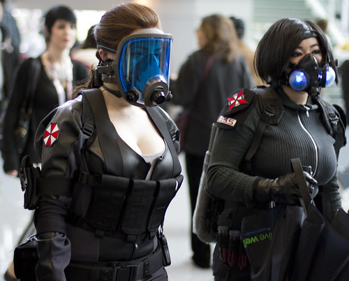 Umbrella Corp ladies