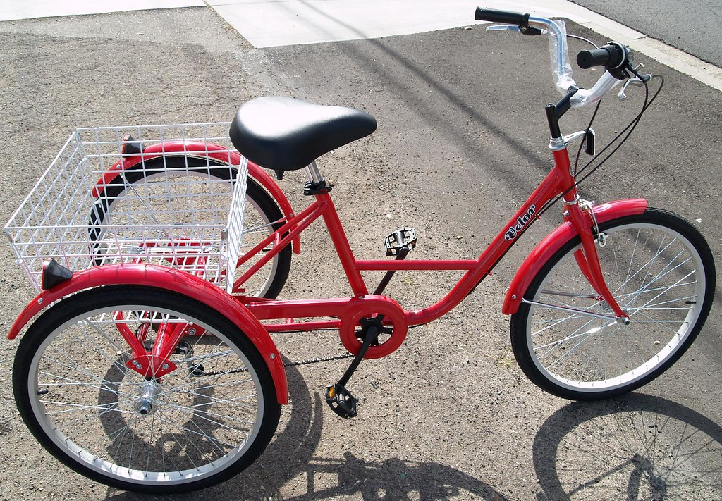3-wheel adult bike