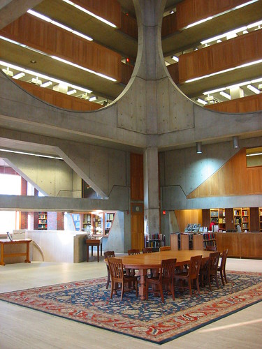 Louis Kahn's Library at Phillips Exeter Academy (Exeter, NH)