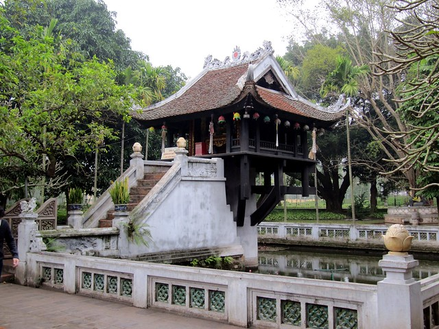 e Pillar Pagoda Hanoi Vietnam