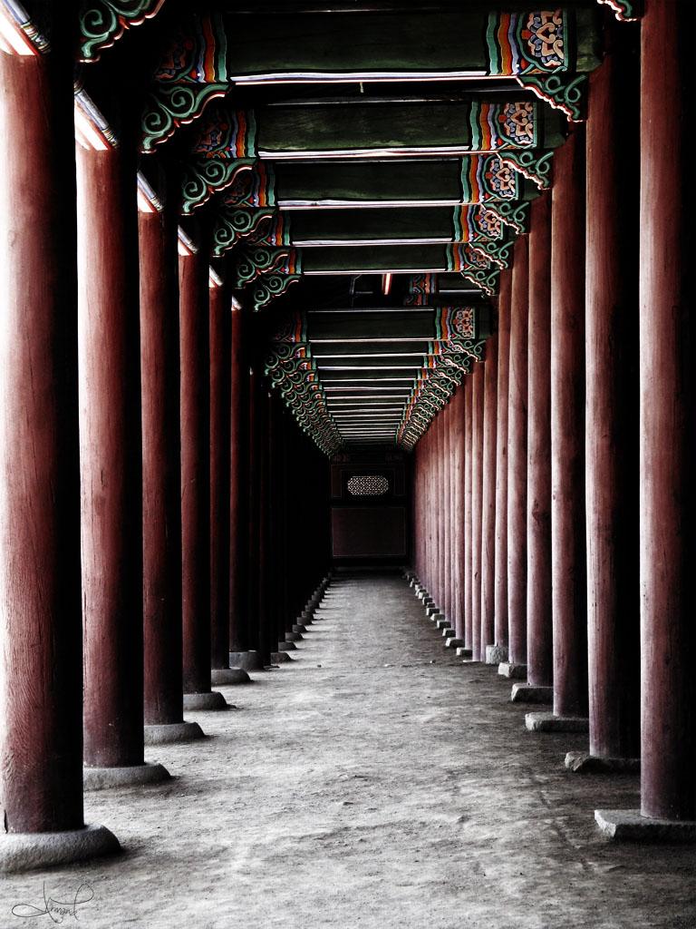 Gyeongbokgung, Seúl, Corea del Sur.